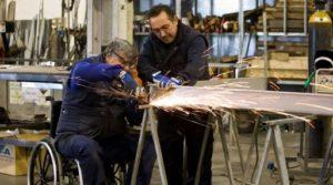 trabajadores con discapacidad Rehatrans Pepe Varela
