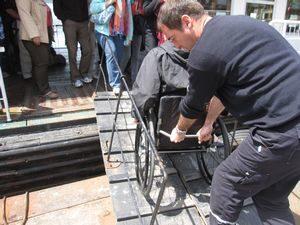 viajar silla de ruedas discapacidad Rehatrans
