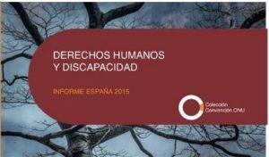 DERECHOS HUMANOS Y DISCAPACIDAD 2016  CERMI