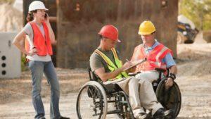 Trabajadores discapacitados, silla de ruedas, Rehatrans, Pepe Varela