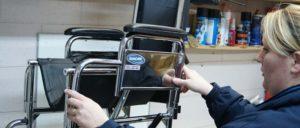 silla de ruedas discapacidad Rehatrans