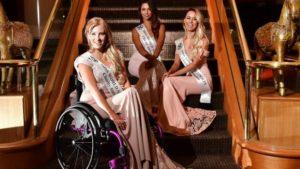 Justine Clarke, silla de ruedas, discapacidad, discapacitados, Rehatrans, Pepe Varela