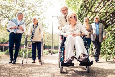 feliz día de las personas mayores